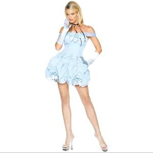 💙Blue princess cosplay/Halloween costume (1 pc)